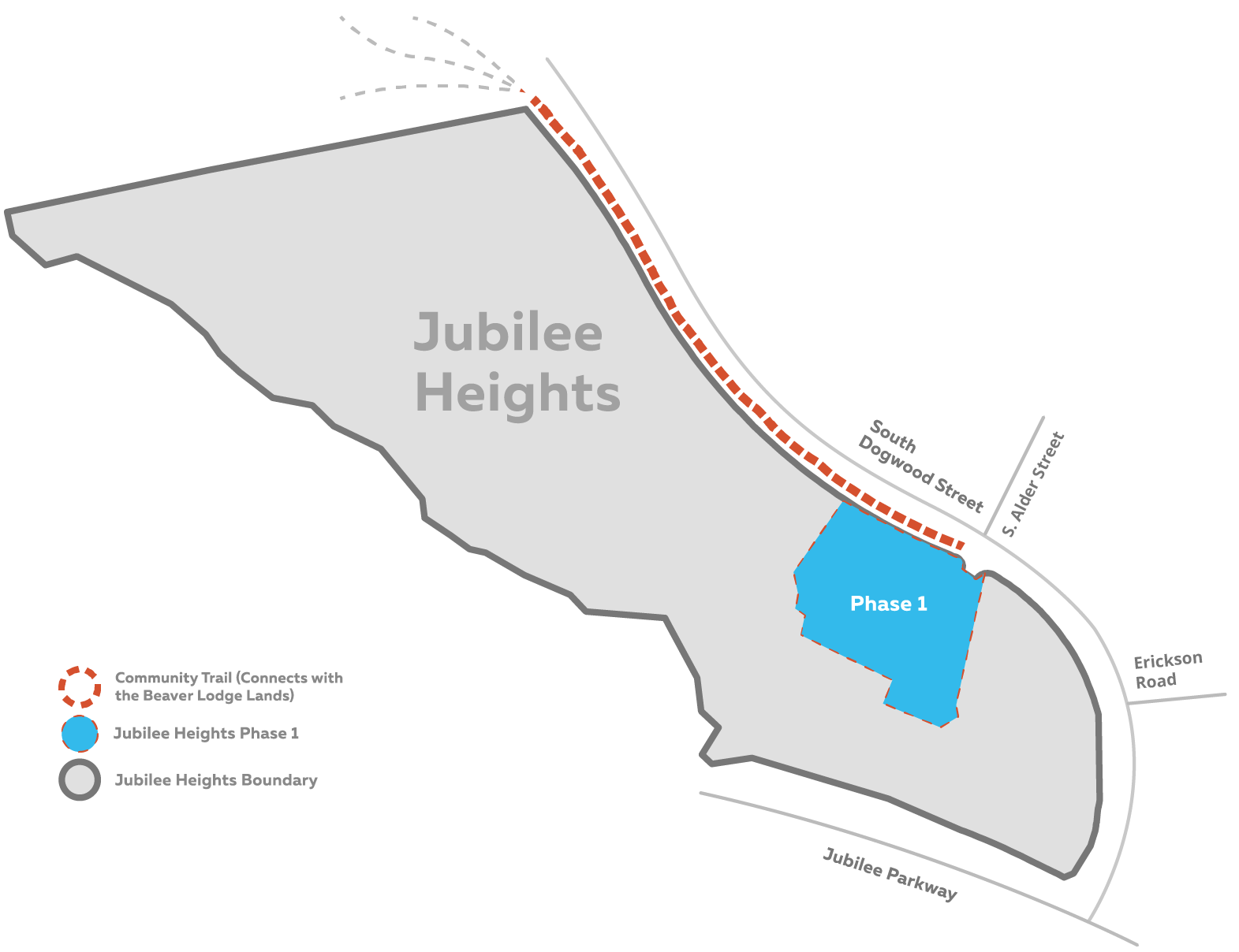 Residential Lots For Sale Vancouver Island | Site Plans - Jubilee Heights Map